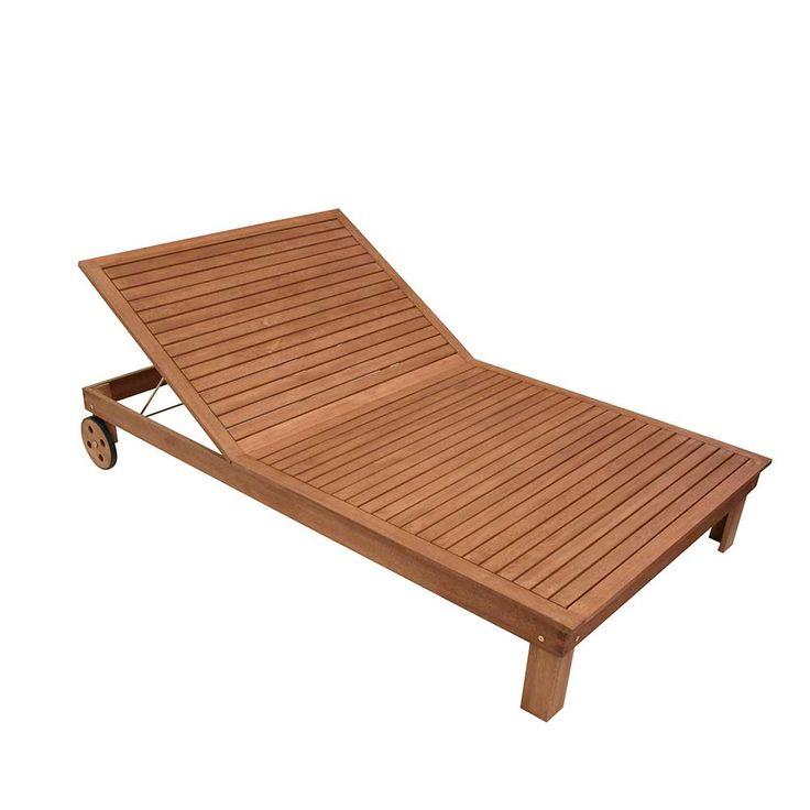 Holzliege für Garten Rollen Jetzt bestellen unter: https://moebel.ladendirekt.de/garten/gartenmoebel/gartenliegen/?uid=05d6ab38-a018-58c5-b36c-70b0cc1d5ff3&utm_source=pinterest&utm_medium=pin&utm_campaign=boards #balkonliege #gartenliegen #gartenliege #relax #garten #liegen #sonnenliege #gartenmoebel #gartenmöbel