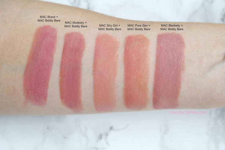 MAC Boldly Bare - The Most Versatile Nude Lip Liner