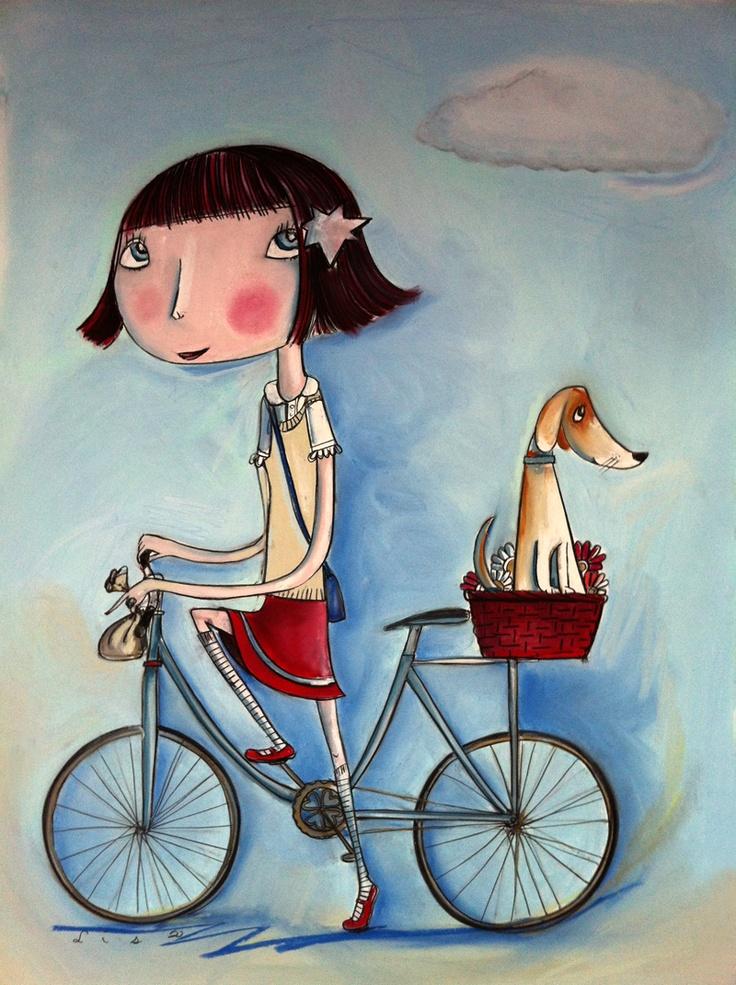 By Lisa COUTTS se parece a fede awwww #grovybike