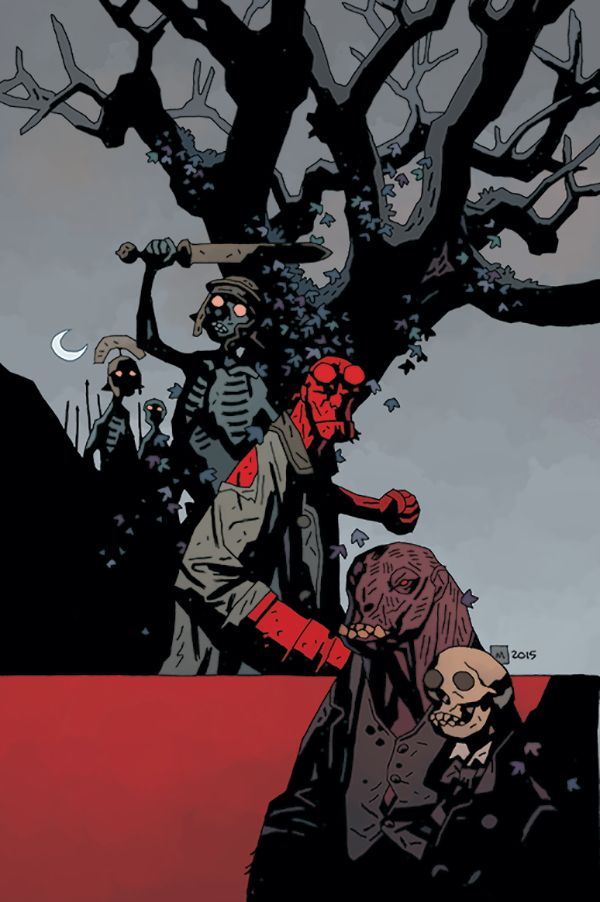 Hellboy Amp The Bprd 1953 The Witch Tree Amp Rawhead Rex And