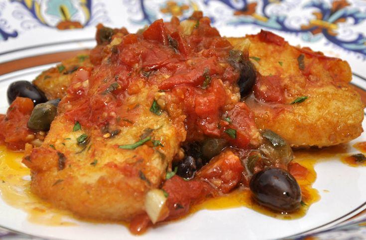 Sicilian-Style Salt Cod (recipe by Eataly)