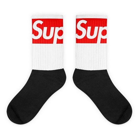 3342d004af62 Supreme Custom Off White Kicks Sneaker Socks Sneaker  OffWhite  Supreme   CustomSocks  Kicks  Sneaker  Socks  SneakerSocks  Hype  beast  Hypebeast  ...