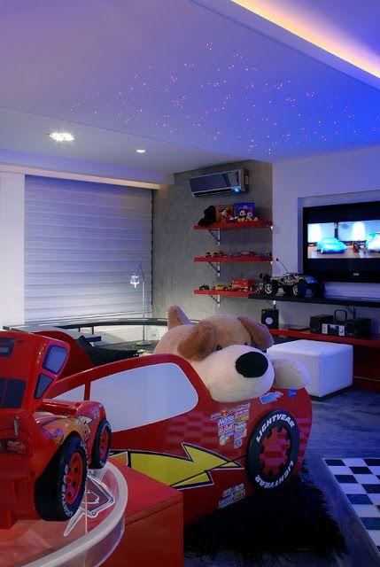 DORMITORIO RAYO MCQUEEN CARS KIDS BEDROOM : Dormitorios: Fotos de ...
