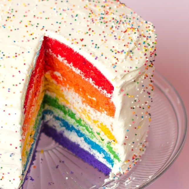 Baking recipes for someone who likes lots of colors