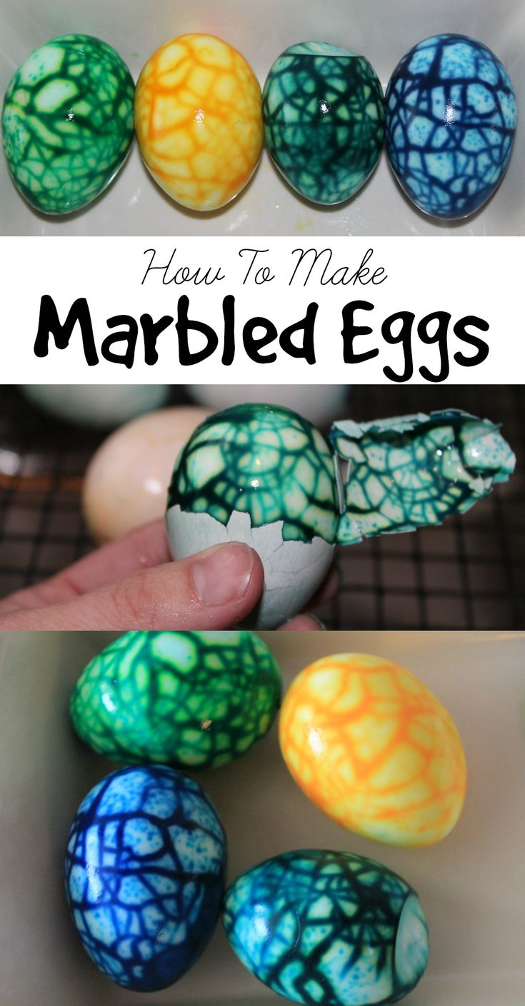 Marbled Easter Eggs-How To Make Marbled Easter Eggs