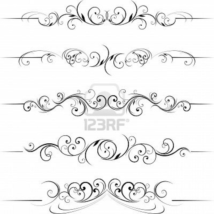 17 Best images about Printables ~ Flourishes, Borders, Frames ...