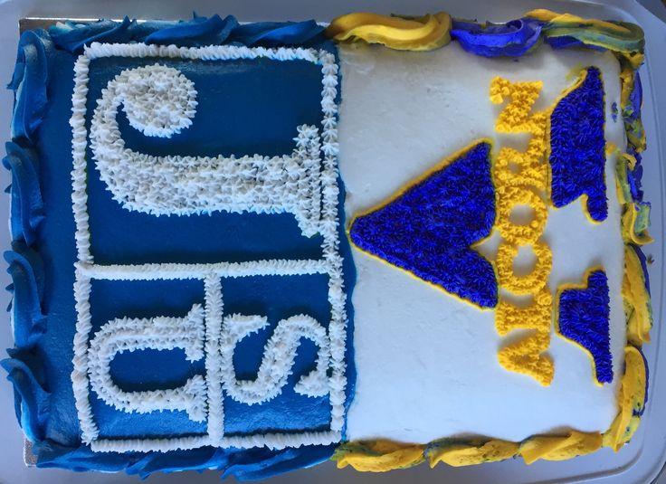 Jackson State / Alcorn Thanksgiving Cake I made for a divided family......
