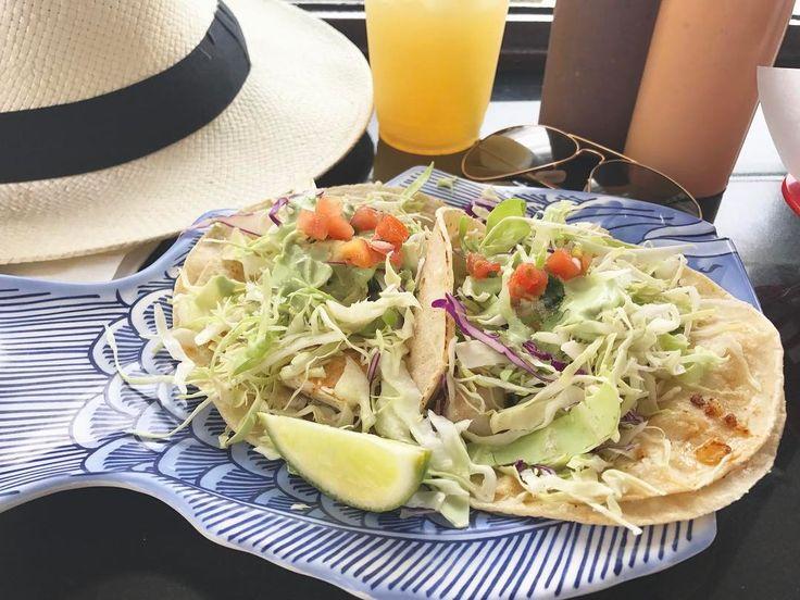 Ono? More like oh yes. Fresh fish tacos, house made salsas, and a rainbow of agua frescas - Paco's Tacos, Kapa'a, Kauai