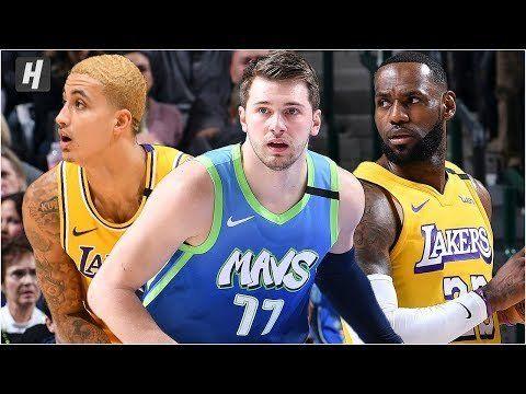Los Angeles Lakers Vs Dallas Mavericks Full Game Highlights January 10 2020 2019 20 Season In 2020 Lakers Vs Los Angeles Lakers Dallas Mavericks