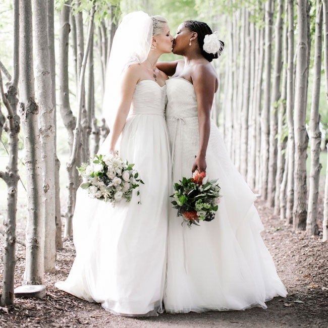 Romantic Outdoor Wedding: 17 Best Images About (Same Sex Weddings) On Pinterest