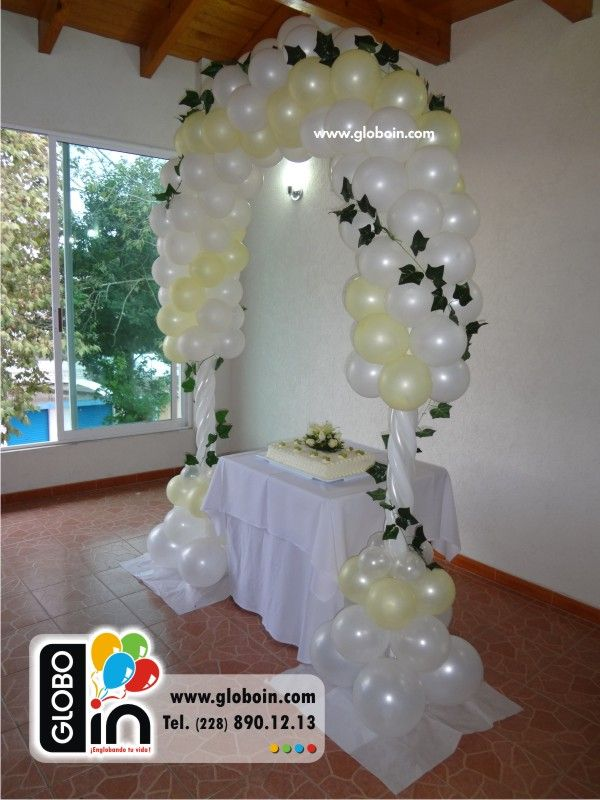 26 best images about arcos con globos on pinterest balloon arch spiderman and bubble guppies Ideas para decorar un arco de boda