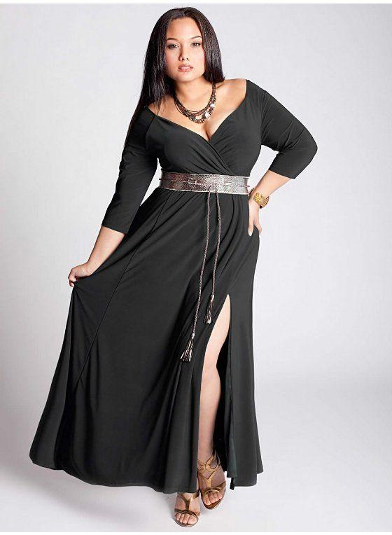 2cd7f2fa6d6 Vestidos largos para mujeres grandes - Vestidos no caros 2019