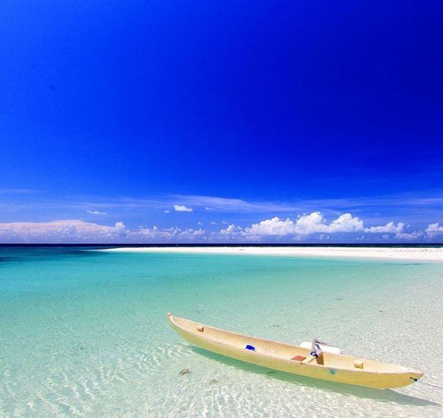 One of Indonesia's best-kept beaches; Tinabo island,  Taka Bonerate National Park, South Sulawesi.  #panoramamagz #panoramagroup #ontheroap #indonesia #wonderfulindonesia #tinabo #island #tinabobesar #takabonerate #nationalpark #southsulawesi #sulawesi #travel #beaches #traveling #instatravel #igtravel