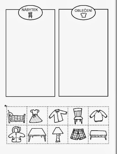 nábytek a oblečení