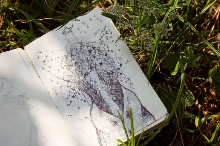 △△△  #girl #anatomy #ispiratio #woman #Sun #dreamsun #explosion #butterflyexplosion #butterfly #girl #flowers #sketch #sketchbook #wip #body #skethbooks #draw #drawing #pen #graphite #ink #accademyofart #art #illustration #accademy #dream #SHIsketchbook #SHI #Shidrawing