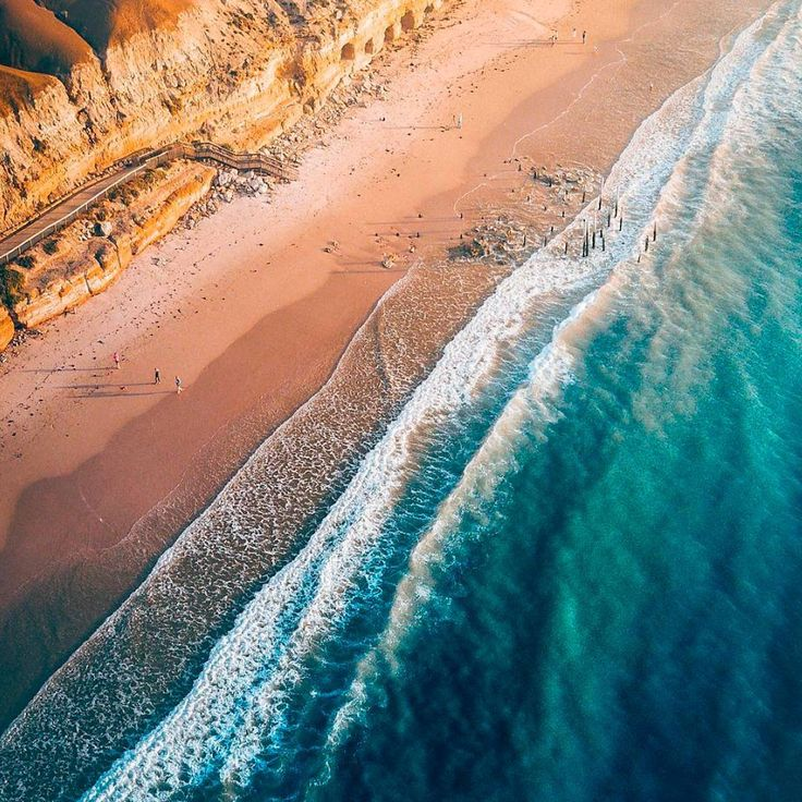 What an incredible snap by @safromabove of the Port Willunga coastline. South Australia truly is home to some of the country's best beaches.
