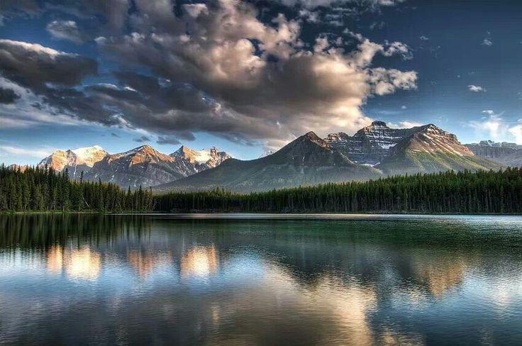 Herbert Lake Banff National Park Alberta Canada