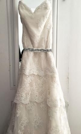 Priscilla of Boston wedding dress currently for sale at 0% off retail.