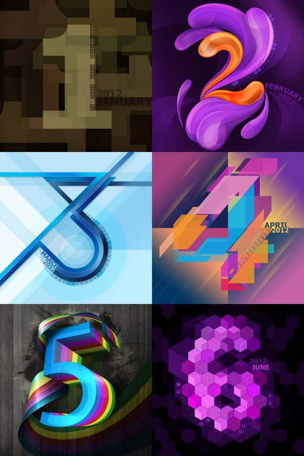 45+ Top Calender Designs 2012 (9)