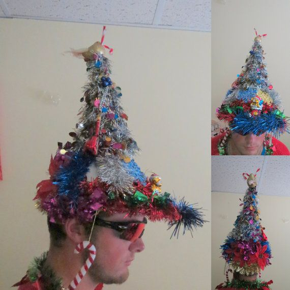 Crazy Christmas Hat Ideas: 14 Best Ugly Christmas Hat Ideas Images On Pinterest