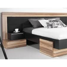 tete de lit avec chevet incorpore tres large recherche. Black Bedroom Furniture Sets. Home Design Ideas