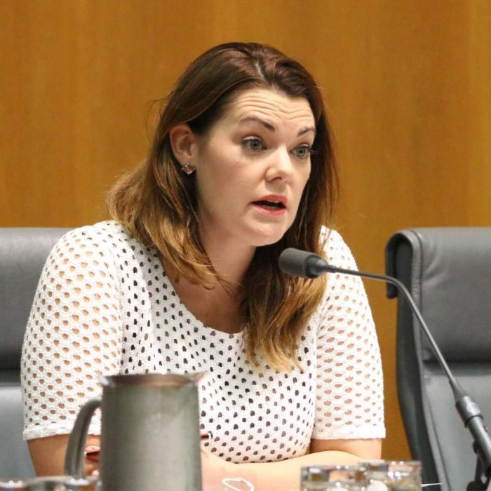 Greens senator Sarah Hanson-Young gives a gaffe-filled interview about superannuation.
