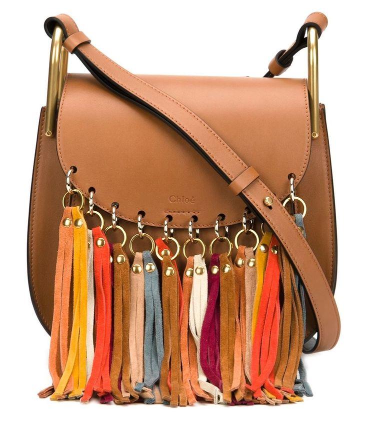 Chloe Brown 'Hudson' Tassel Bag