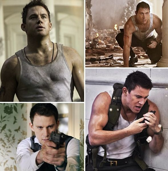 Channing Tatum in White House Down. ❤
