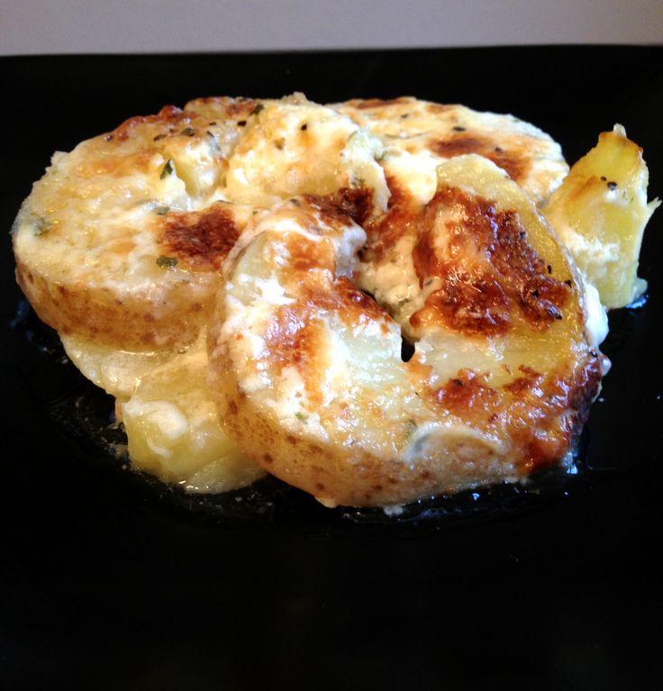 potato au gratin; gluten free Thanksgiving