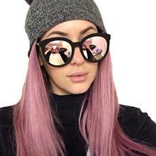 Luneta Femme Mulheres de Luxo Da Marca óculos de Sol Olho de Gato Das Senhoras Rosa de Ouro Rosa Óculos De Sol Das Mulheres 2016 UV400 óculos de sol Óculos de Sol Espelho Feminino(China (Mainland))