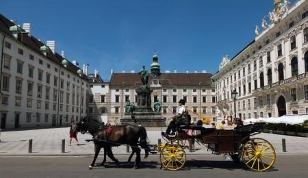 Taženém koňmi ve Vídni