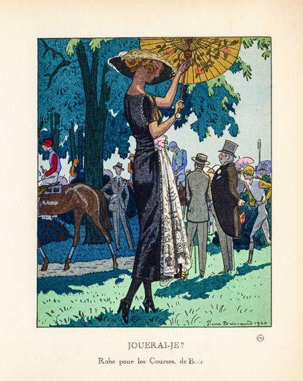 Vintage tijdschrift cover Jouerai-je? door Pierre Brissaud