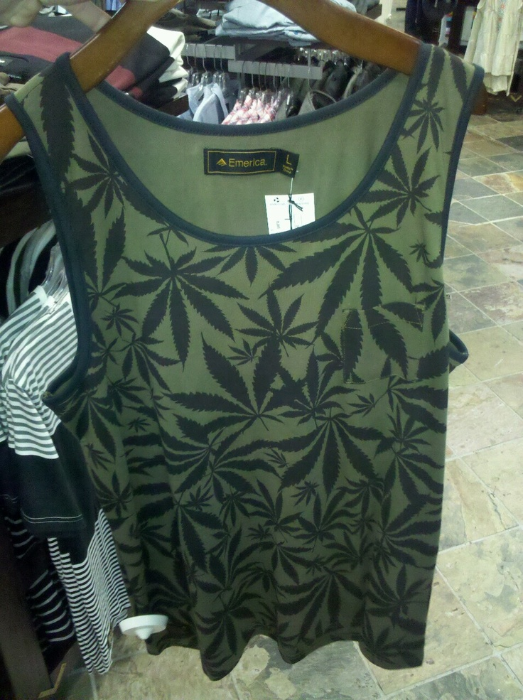 Weed clothes  Cute!  Is it made from hemp?