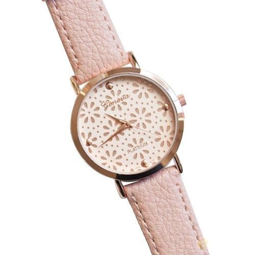 Cute floral teen girl pink party watch