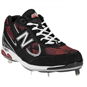 SALE - New Balance Pedroia 1103 D Baseball Cleats Mens Black Mesh - Was $89.99 - SAVE $45.00. BUY Now - ONLY $44.97