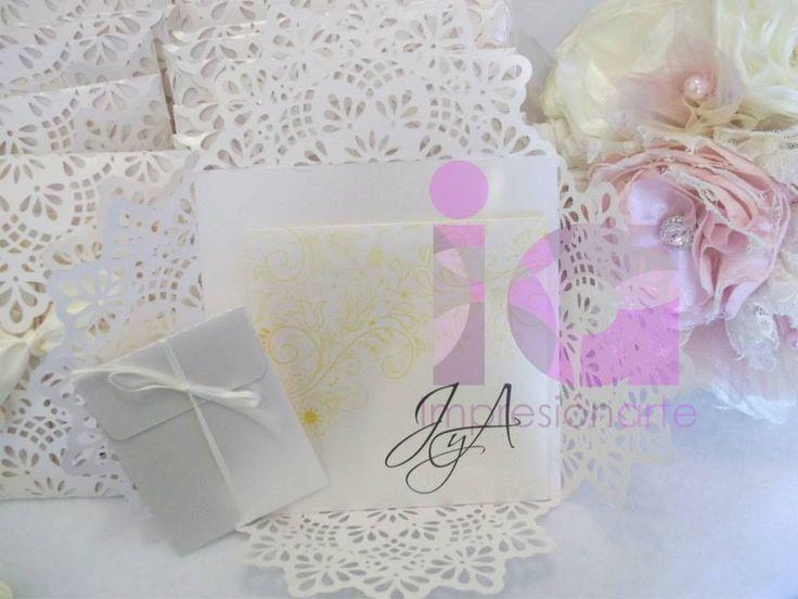 Hermosas Invitaciones de boda!!