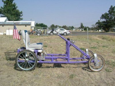 Ultimate diy 4 wheel bike plans and kits made from pvc for Golf cart plans