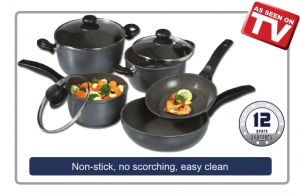 Best pans ever... once you use these, you will never use stainless steel or teflon again!