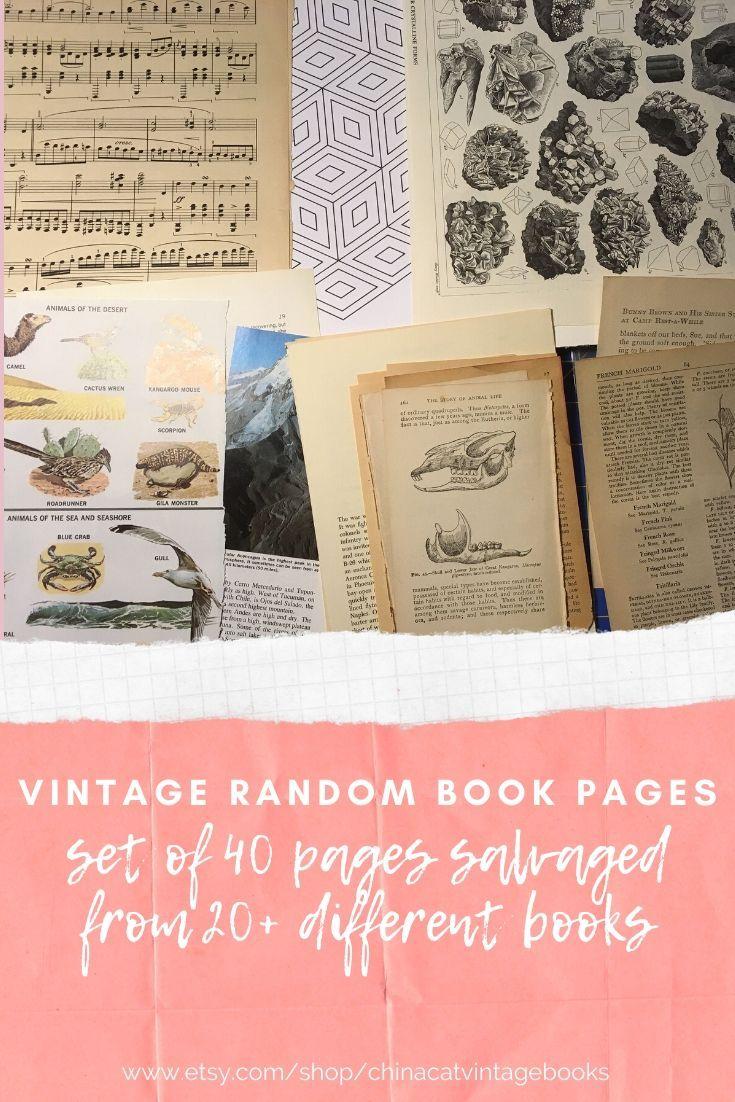 Pack 25 Vintage Sheet Music Craft Junk Journal Decoupage