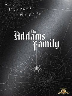 "The Addams Family - Complete Series (DVD)-The Addams Family is not your typical family: they take delight in most of the things that ""normal"" people would be terrified of. Gomez Adams is an extremely wealthy man, & is able to indulge his wife Morticia's every desire! People visiting the Addams Family just don't seem to appreciate the 7 foot tall butler ""Lurch"" or the helping hand (which is just a disembodied hand named ""Thing"")."