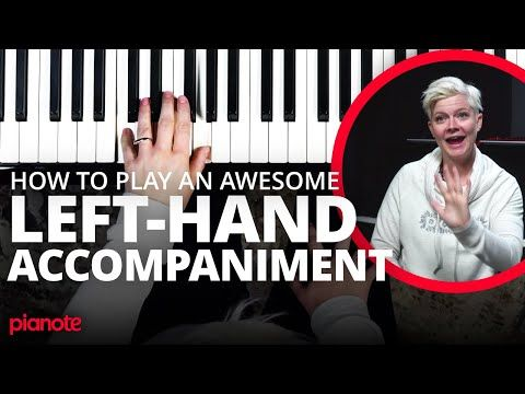 How To Make Your Left Hand Sound Awesome On The Piano Youtube In 2020 Piano Songs Learn Music Piano Chords