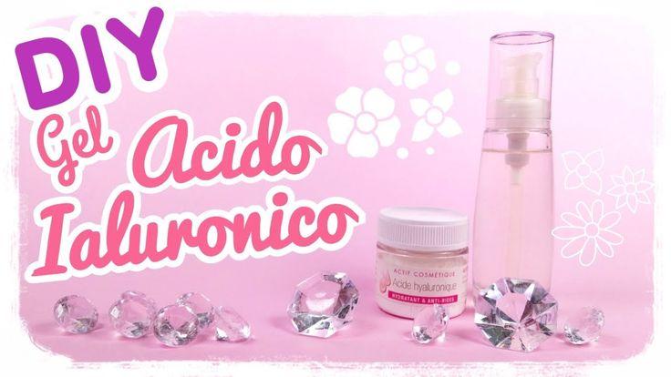 DIY - Gel di Acido Ialuronico Fai Da Te - Sodio Ialuronato