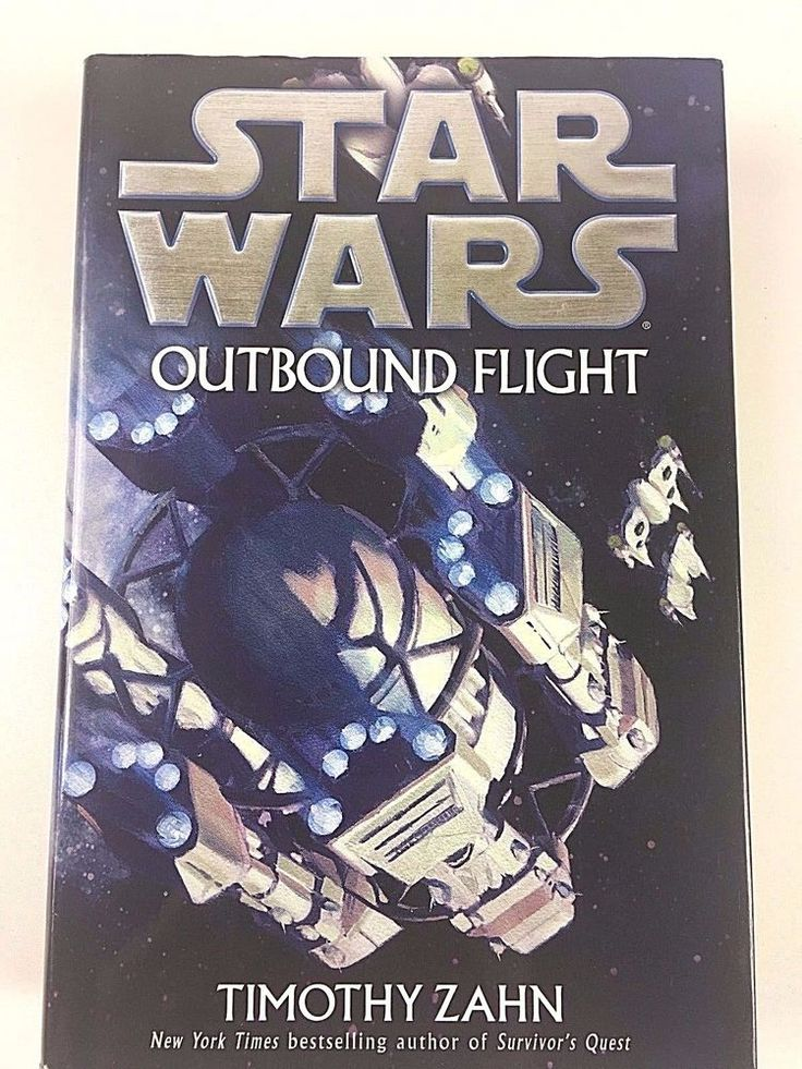 Rare 1st Edition Star Wars: Outbound Flight by Timothy Zahn (2006, Hardcover)