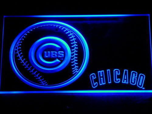 Chicago Cubs LED Neon Sign Light NLB Baseball Sports Team  #Unbranded #ChicagoCubs