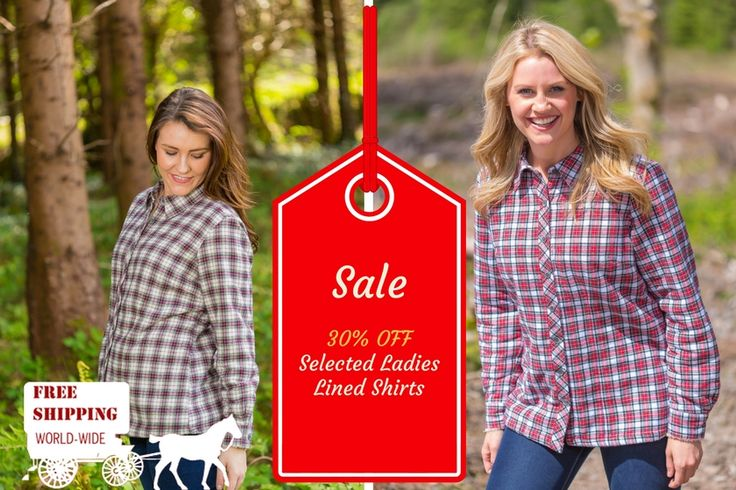 Lee Valley Irish Flannel Cotton Shirts for ladies #leevalleyireland #flannelshirts #granddadshirts #grandfathershirts #irishshirt