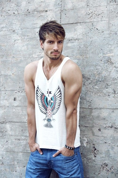 Rrrrhhhh || #fashion #mode #casual #streetstyle #men || Follow http://www.pinterest.com/lcottereau/mens-mode-casual-summer/