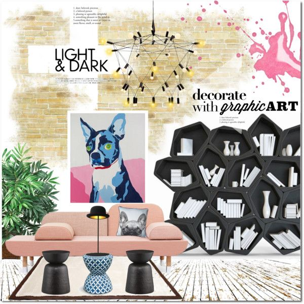 Light & Dark by justlovedesign on Polyvore featuring interior, interiors, interior design, home, home decor, interior decorating, Crate and Barrel, Patrick Townsend, Innermost and UGG Australia