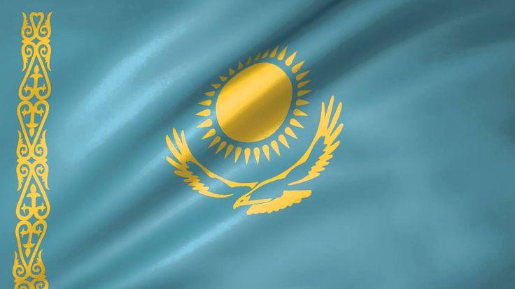 Kazakhstan Animated Flag