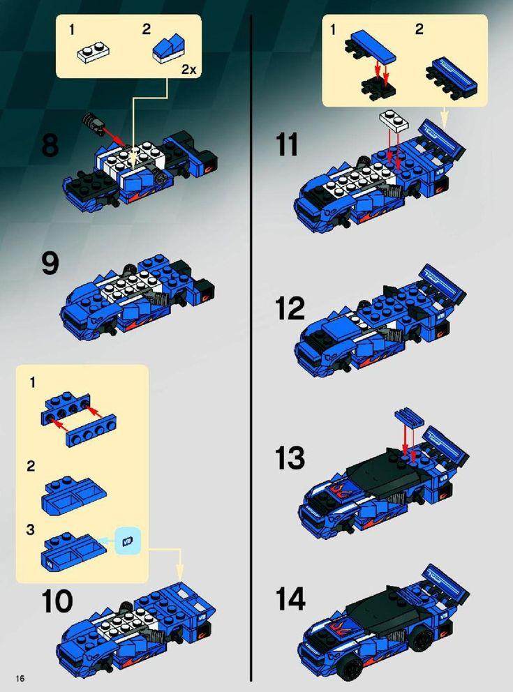 25 Best Lego Images On Pinterest Lego Instructions Lego Building