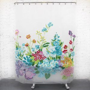 Shower Curtains With Flowers